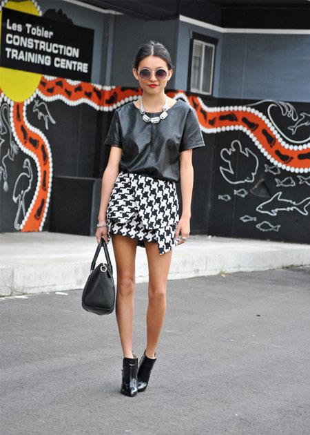 mini-saia-pied-poule-assimetrica-tendencia-moda