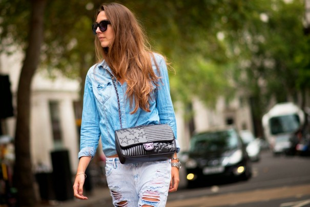 London Fashion Week Street Style Spring 2015 3