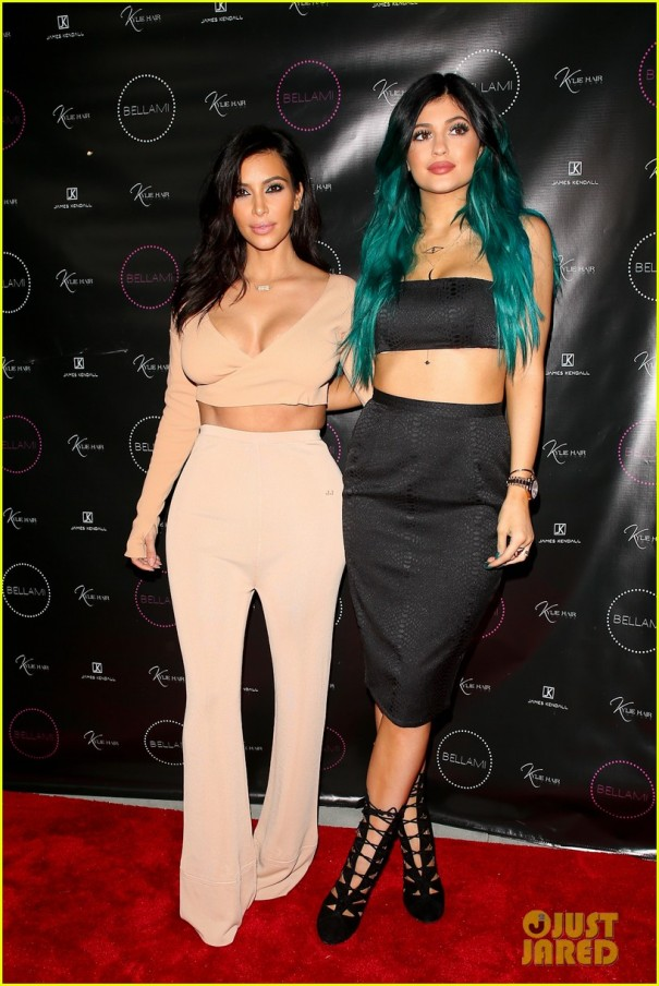 The Kardashians Attend James Kendall Store Opening