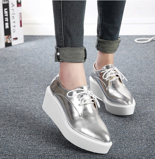 2015-Autumn-Women-s-Metallic-Leather-Creepers-Fashion-Punk-Flat-Platform-Thick-Sole-Square-Toe-Harajuku