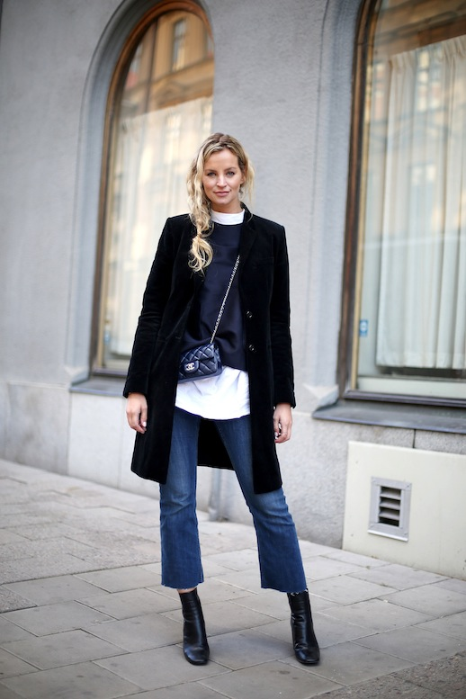 Le-Fashion-Blog-Cropped-Denim-Flares-Tall-Ankle-Boots-Black-Coat-Mock-Neck-Top-Blue-Chanel-Quilted-Mini-Crossbody-Bag-Sock-Boot-Fall-Winter-Style-2015-Via-Blogger-Anouke-Yve.jpg~original